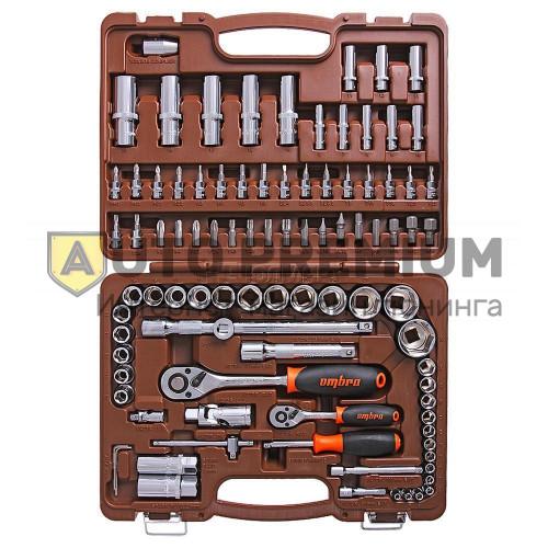 Набор инструментов 4-32 мм. 1/2 94 предмета «OMBRA» 055016